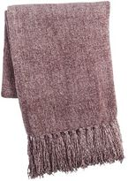 Pier 1 Imports Lilac Chenille Throw