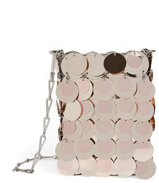 Paco Rabanne Mini Iconic 1969 Sparkle Shoulder Bag