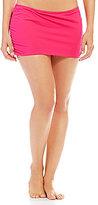 Gibson & Latimer Solid Shirred Skirt