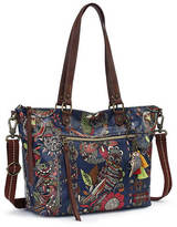 Sakroots Artist Circle City Satchel Handbag