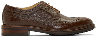Paul Smith Tan Croc Tilson Brogues