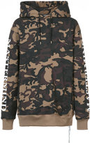 Mastermind Japan camouflage print hoody