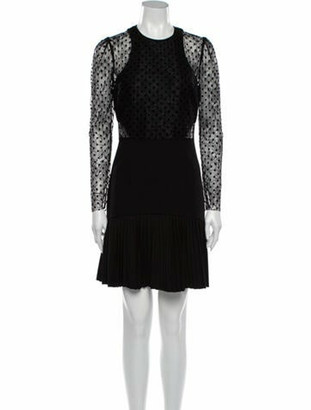 Rebecca Vallance Gabriella Mini Dress w/ Tags Black