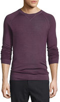 Vince Raglan-Sleeve Crewneck Sweater