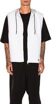 Yohji Yamamoto Future Sport Vest in White