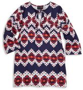 Oscar de la Renta Toddler's, Little Girl's & Girl's Ikat Cotton Top