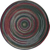 Colonial Mills CK67R120X120 Chestnut Knoll Space-Dye Braided Rug