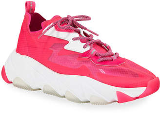 Ash Eclipse Neon Fabric Sneakers