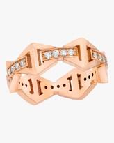 Walters Faith Keynes Diamond Hexagon Ring