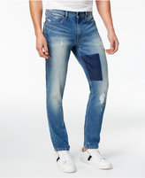 Sean John Men's Essex Slim-Fit Stretch Destroyed Jeans