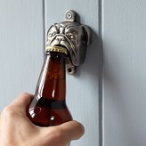 Williams-Sonoma Williams Sonoma Novelty Wall-Mounted Bottle Opener, Bulldog