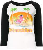 Moschino my little pony baseball t-shirt