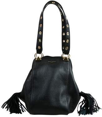 Sonia Rykiel Black Leather Shoulder bags