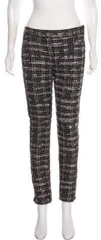 Chanel Paris-Dubai Tweed Pants