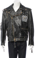 Off-White Oversize Biker Jacket w/ Tags