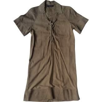 Georges Rech Beige Suede Dress for Women