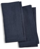 Hotel Collection Modern Navy 2-Pc. Linen Napkin Set, Created for Macy's