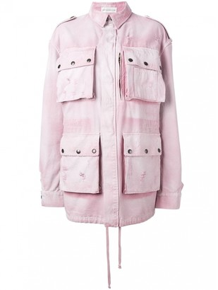 Faith Connexion Pink Cotton Jacket for Women