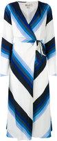 Diane von Furstenberg midi wrap dress - women - Silk/Polyester/Spandex/Elastane - 6