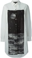 Marc by Marc Jacobs galaxy print shirt dress