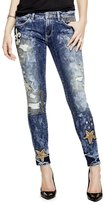 GUESS Embellished Skinny Jeans