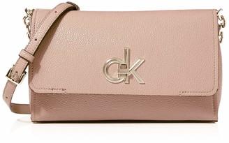 Calvin Klein RE-LOCK FLAP XBODY Womens Cross-Body Bag