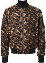 Public School camouflage bomber jacket - men - Polyester/Acetate - M