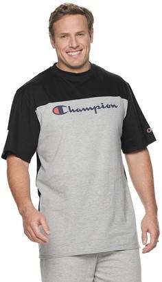 Champion Big & Tall Colorblock Chest Logo Tee