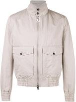 Ami Alexandre Mattiussi high collar jacket - men - Cotton/Linen/Flax/Acetate - M