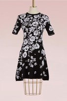 Kenzo Cotton short fit and flare Dress