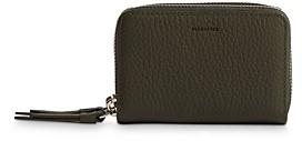 AllSaints Fetch Leather Card Case