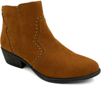 Bamboo Women's Casual boots CHESTNUT - Chestnut Sadie Ankle Boot - Women