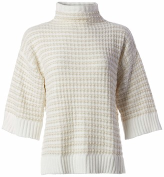 Ruby Rd. Women's Petite Size Turtleneck Pull Over Sweater