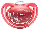 NUK Freestyle Silicone Soothers Size 1 Pink (0-6 months, 2 pack) by