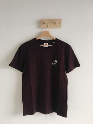 Johnny Romance - Plum Edelweiss T Shirt - xs | organic cotton | plum - Plum