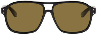 Gucci Black Aviator Sunglasses