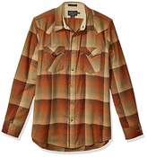 Pendleton Woolen Mills Pendleton Men's Long Sleeve Button Front Fitted Canyon Shirt