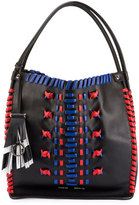Proenza Schouler Whipstitch Leather Medium Tote Bag, Black