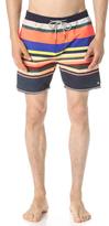Scotch & Soda Colorful Medium Length Swim Shorts