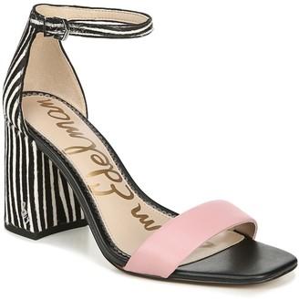 Sam Edelman Daniella Ankle Strap Genuine Calf Hair Sandal
