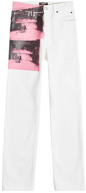 Calvin Klein x Andy Warhol Printed Jeans