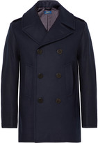 Polo Ralph Lauren Double-Breasted Virgin Wool-Blend Peacoat