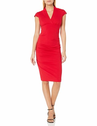 Nicole Miller Women's Hadley Ponte Dress