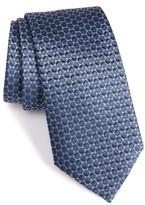 Armani Collezioni Men's Oval Silk Jacquard Tie