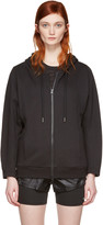 adidas by Stella McCartney Black ESS Zip-Up Hoodie