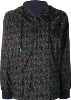 Roseanna floral print zip hooded jacket