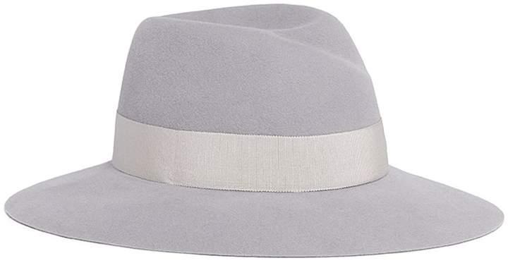 Maison Michel 'Virginie' rabbit furfelt fedora hat