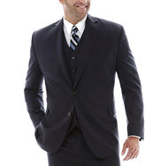 STAFFORD Stafford Super 100 Royal Navy Suit Jacket-Big & Tall