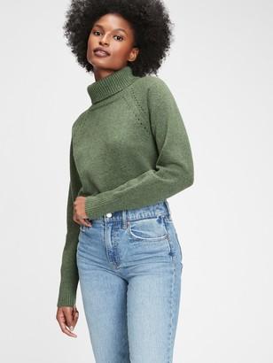 Gap Supersoft Brushed Turtleneck Sweater