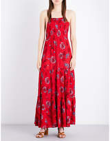 Free People Garden Party woven maxi dress